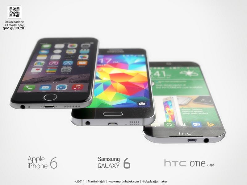 Rendus smartphones