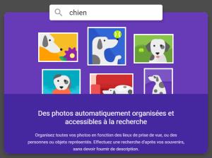 google photos recherche