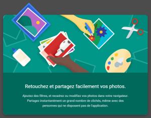 google photos retouche