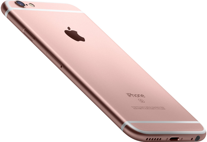 iPhone 6S Rose Or