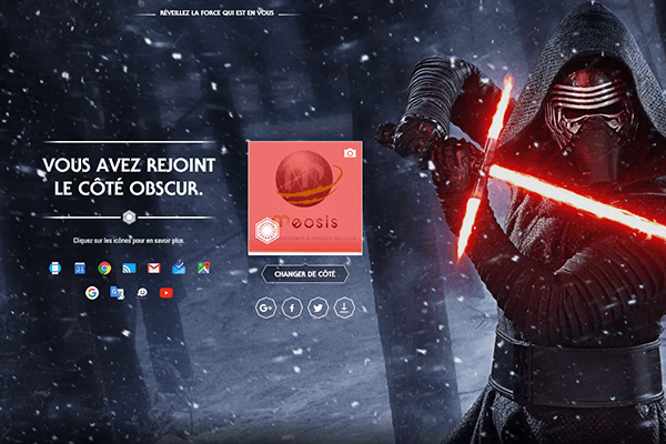 Star Wars Google obscur