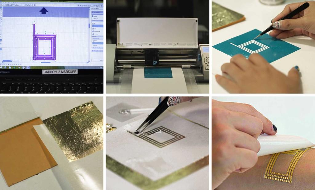DuoSkin : processus de fabrication